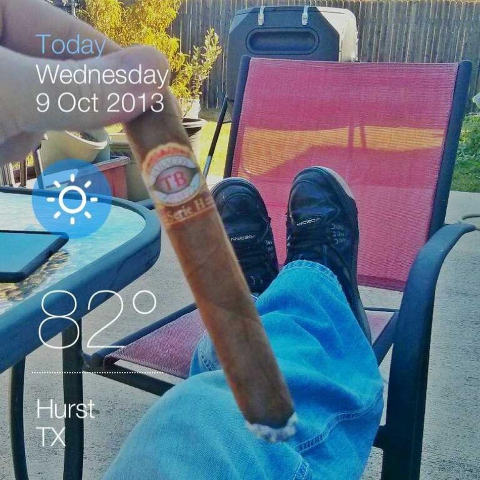 cigar but no coffee, grr!