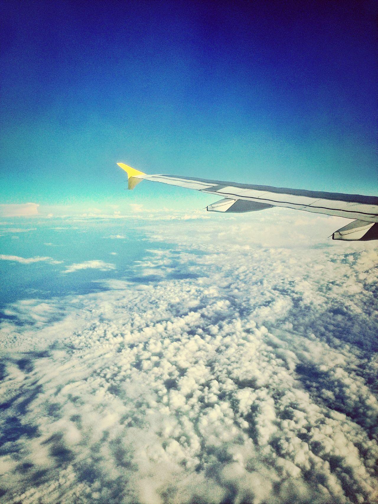 Sky Lisbon AirPlane ✈ Cloud And Sky