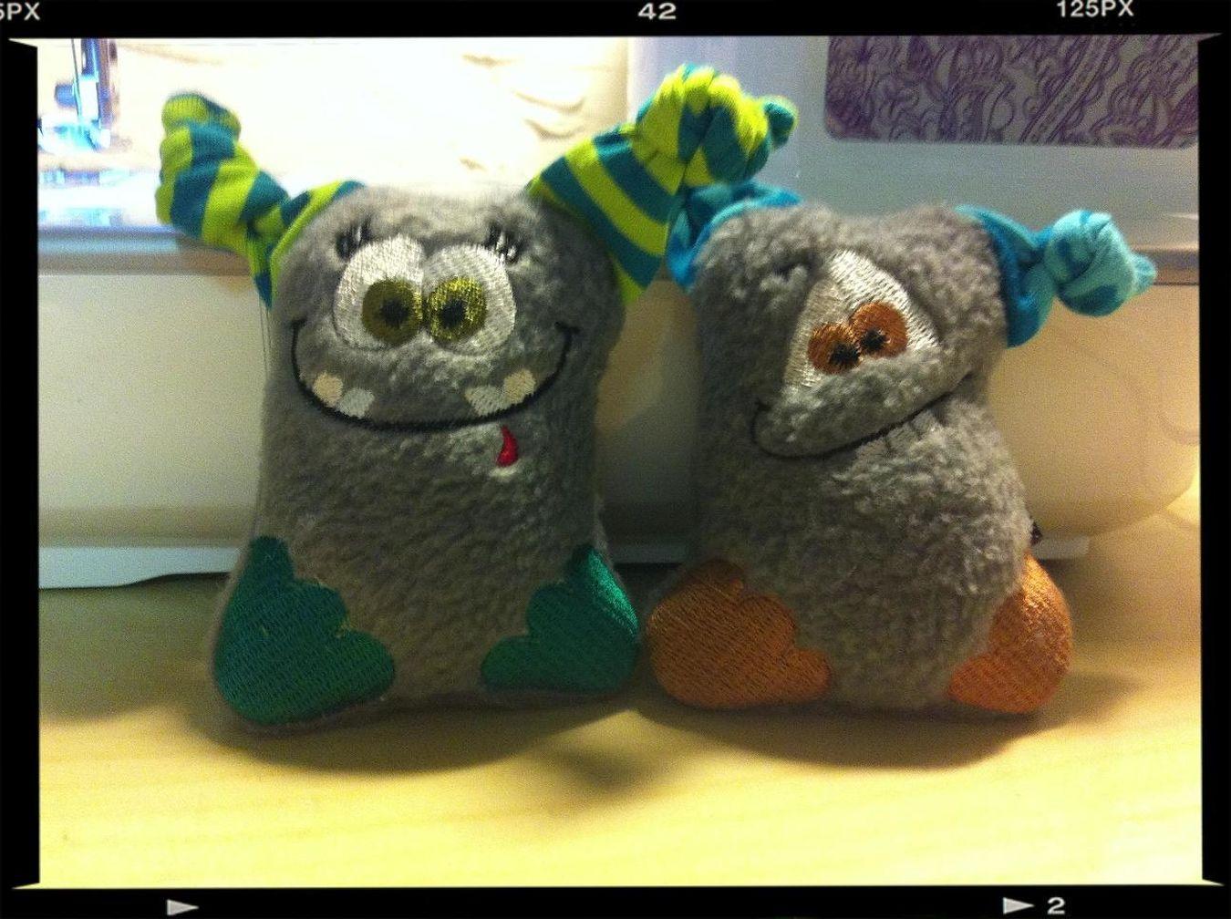 2 neue Familienmitglieder <3 warten auf ein neues zuhause ;) Monster-Friends