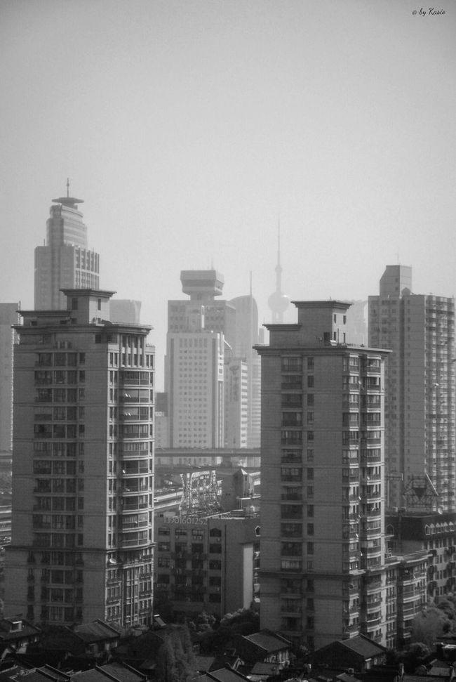 Urbanexploration Sky And City Urban Landscape Snapseed EyeEm Best Shots Sky Sky_collection Eye4photography  Skyline Shanghai Urban Geometry China City Urbanphotography