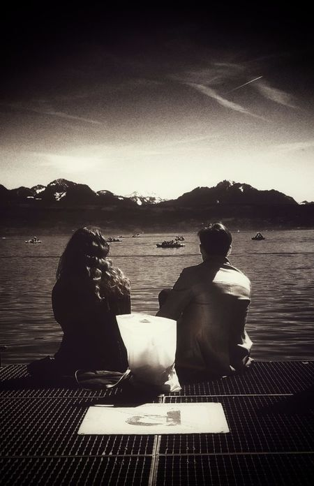 PicFeeling What We Do... The Human Condition Lausanne Switzerland Blackandwhite Lacleman J'adore