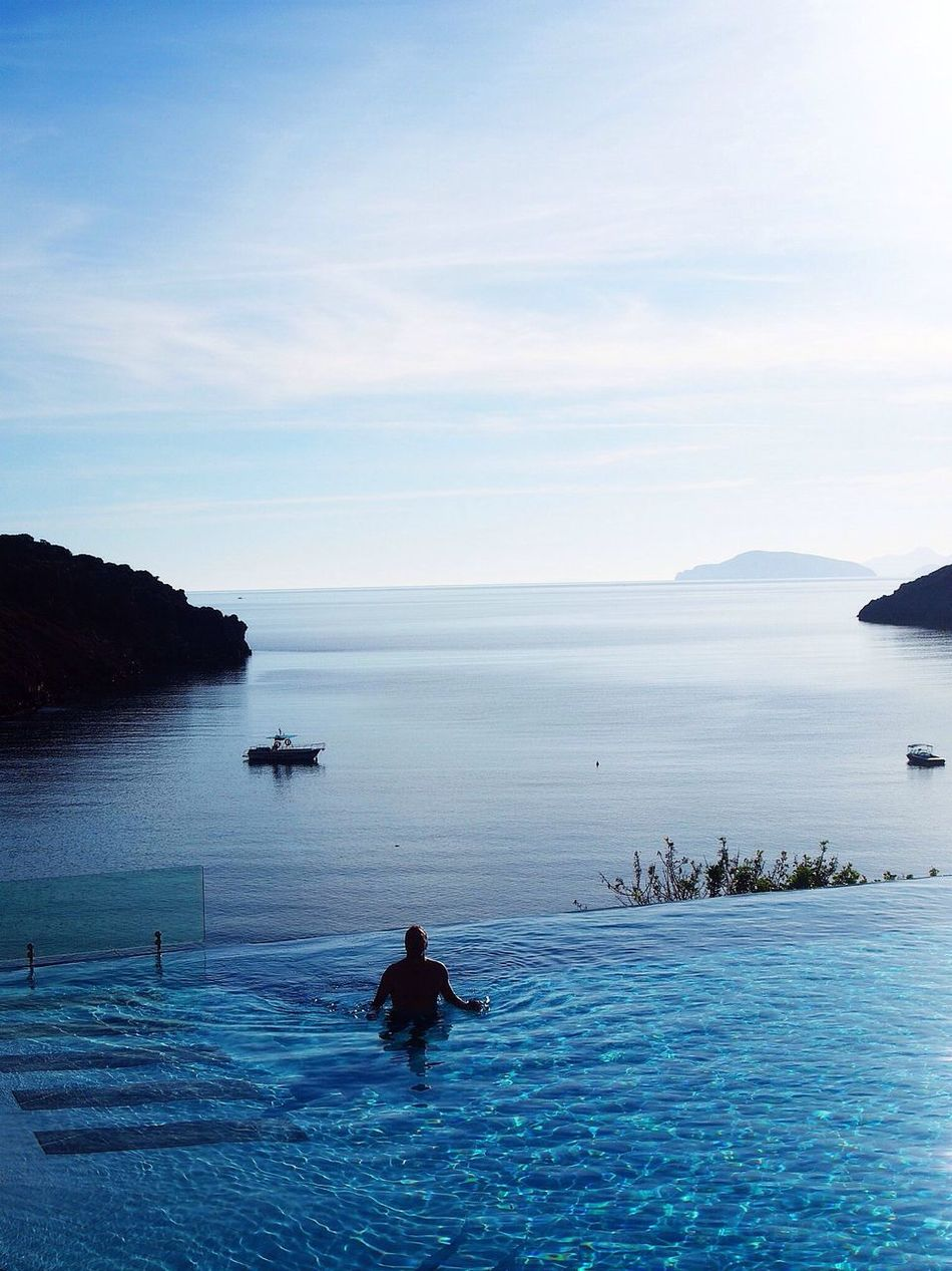 Beautiful stock photos of pools, Beauty In Nature, Day, Idyllic, Infinity Pool