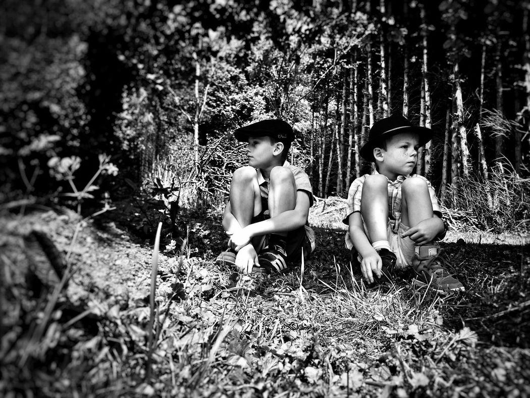 Les kids... EyeEm Best Shots - Black + White Kids Fortheloveofblackandwhite The Portraitist - 2015 EyeEm Awards