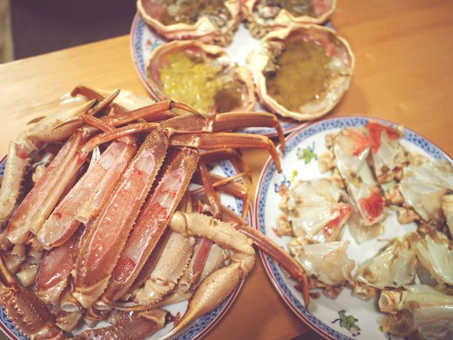 Crab Japanese Food Going To Market