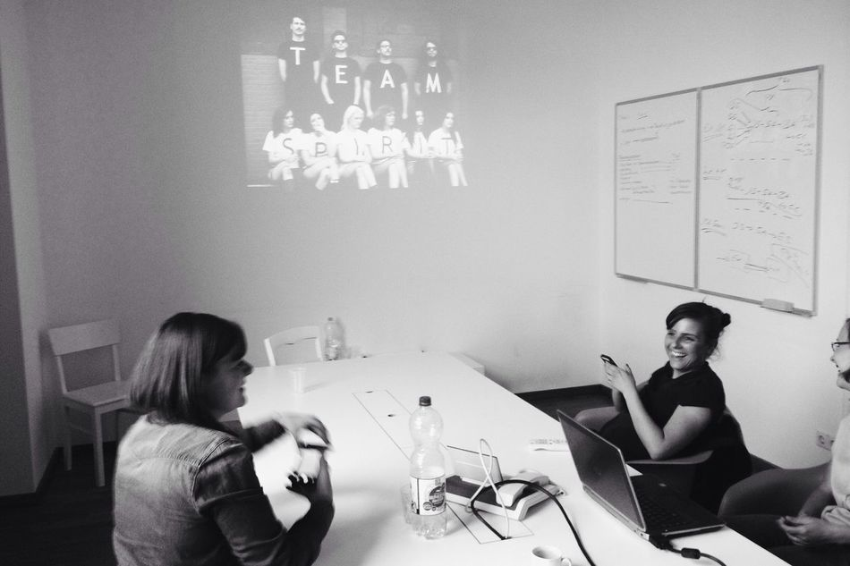 Dailymeetingpic Innovating Top Secret Mission Working