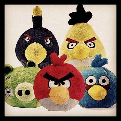 Pelúcias Angry Birds... Onde compro em RP?