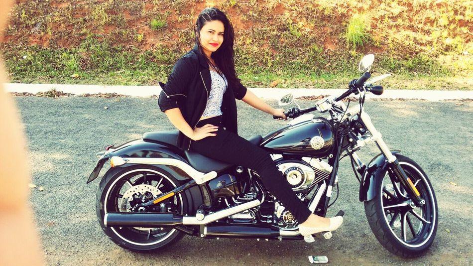 Brasil ♥Brasil ♥ Helloworld First Eyeem Photo Followme Today Harley Davidson Fashion Motorcycle Furia
