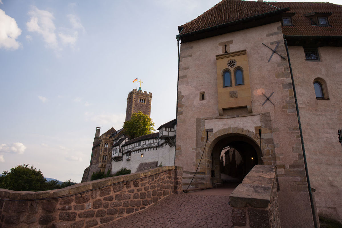 Wartburg Wartburg Wartburg In Eisenach/ Germany Architecture Building Exterior Built Structure Castle Day History Low Angle View No People Outdoors Sky Travel Destinations