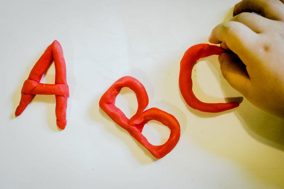 Beautiful stock photos of alphabet, Alphabet, Argentina, Childhood, Childs Play Clay