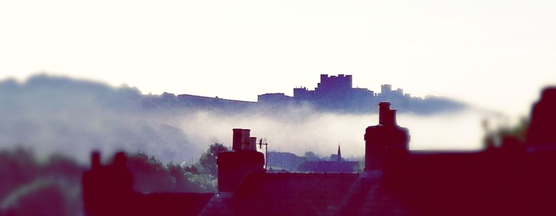 Dover Castle in the morning mist Outdoors No People Castle View  Dovercastle Dover England Misty Morning Misty