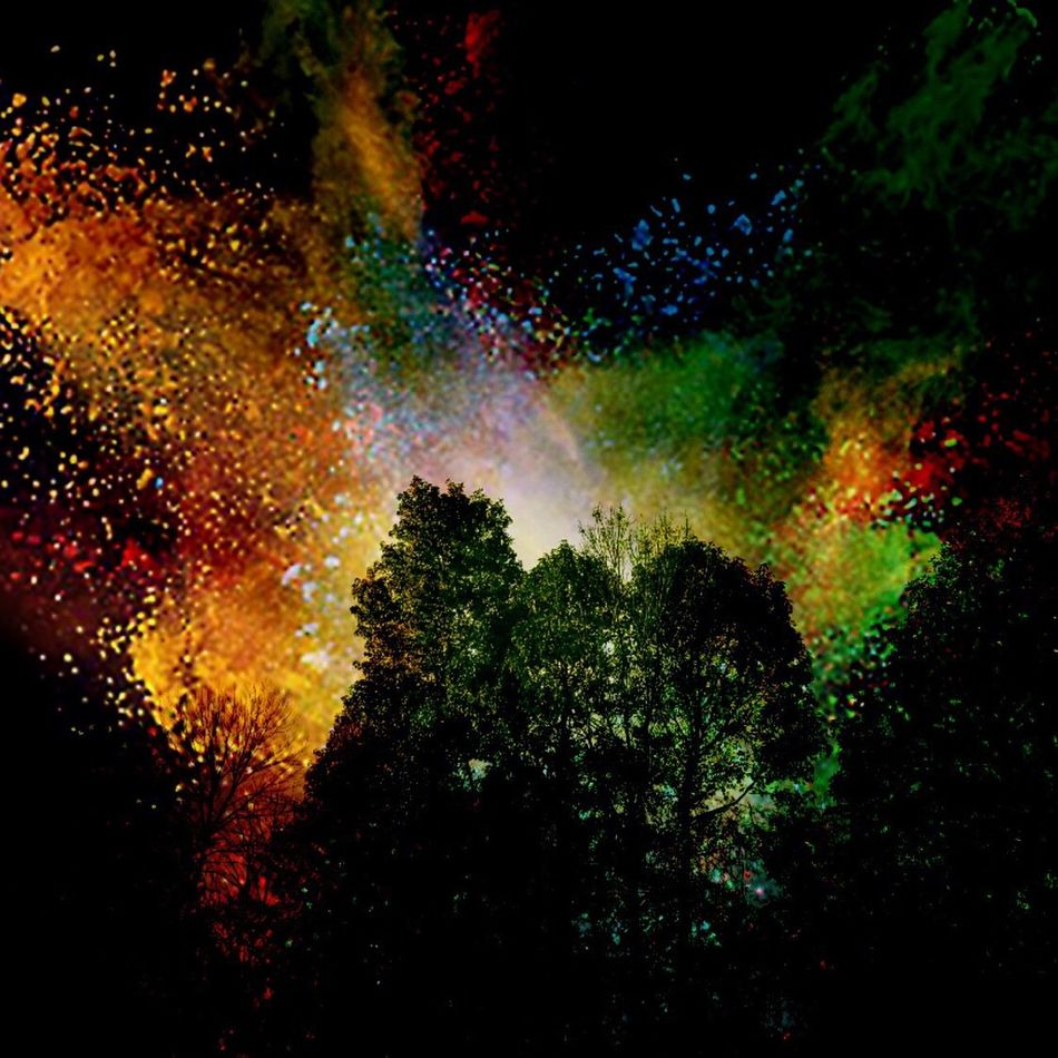 Trees Multi Colored No People Black Background Beauty In Nature Outdoors Sky Night My Dream Sky Photography By Me Editedbyme EyeEm First Eyeem Photo EyeEm Best Edits Eye4photography  Edit Junkie Creative Power CreativePhotographer Fantasy Photography Fantasy Edits Fantasy Where Dreams Come True My Unique Style I LOVE PHOTOGRAPHY Photography Is My Escape From Reality!