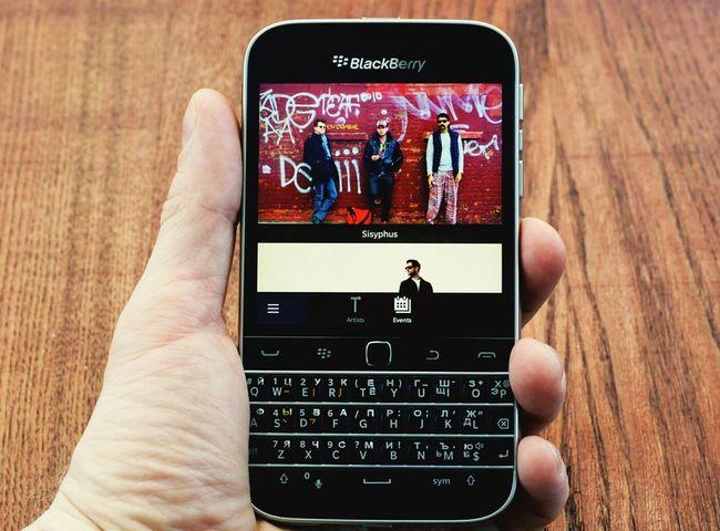 Blackberry Lastfm