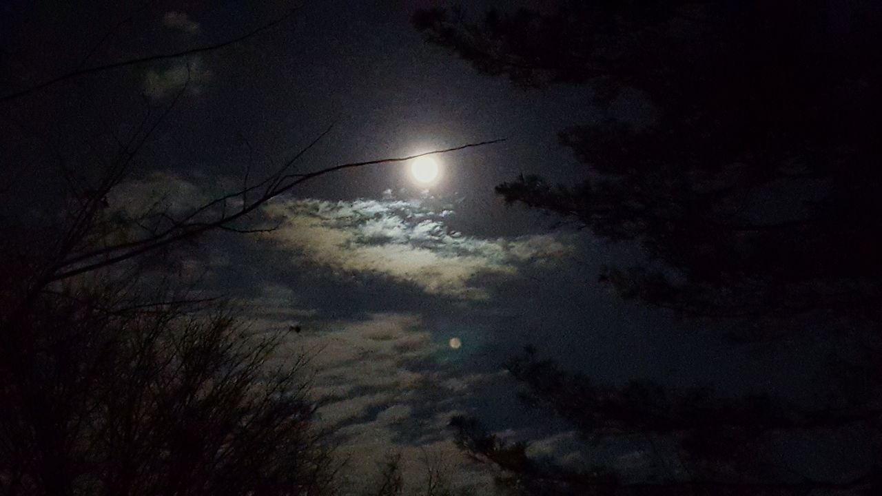 Full Moon In NJ Cold Windy Night Slight Edit 3 Full Moon Pics So Like The One You Think Ia Best The Great Outdoors - 2016 EyeEm Awards