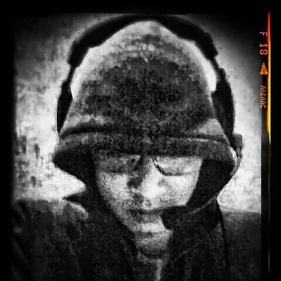 Black is not your enemy Edited Selfie ✌ Music Is My Life Music Brings Us Together Music Photography  Headphones On, World Off. Black & White Monochrome_life Selfie Time SWAG ♥ Bro Songs Rage Against The Machine
