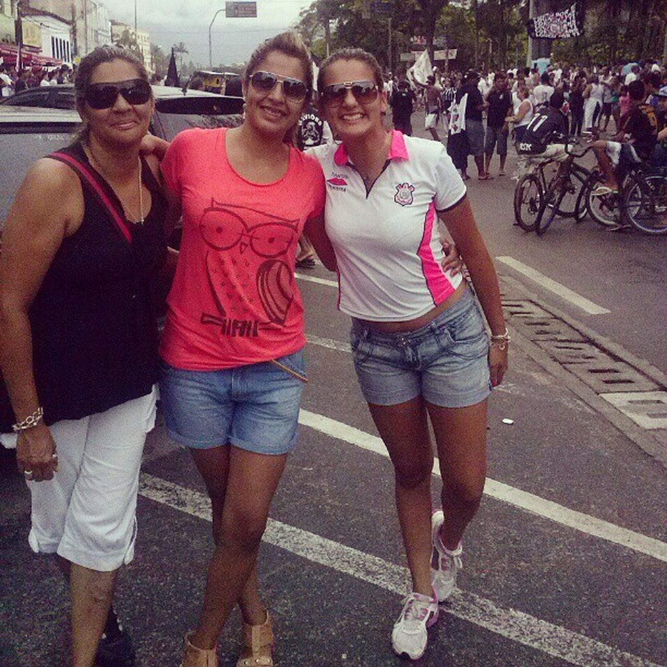Aqui é corinthiaaaaans ! Family Corinthians Campeao Uhul @alexandracoliveira_ katyacamargo