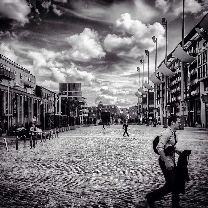 The Street Photographer - 2014 EyeEm Awards Streetphoto_bw NEM Clouds NEM Black&white EyeEm Dublin