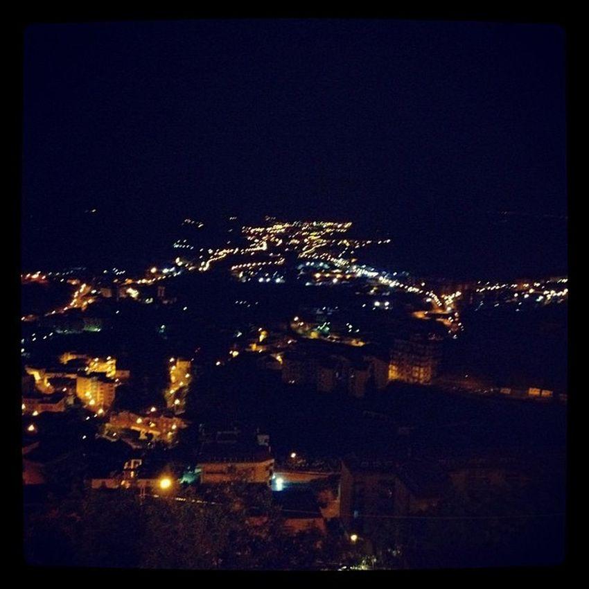 Una valle di Luci Light Landascape Igerscatanzaro iphone instagram igers night catanzaro