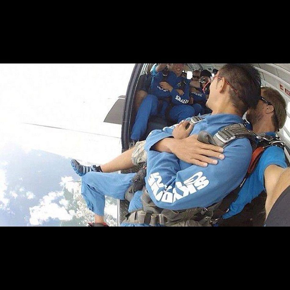 俺の番だっ‼ Sky Guam Gopro Skydive Webstagram Freefall Hafaadai グアム スカイダイビング Skydving ソラトビ