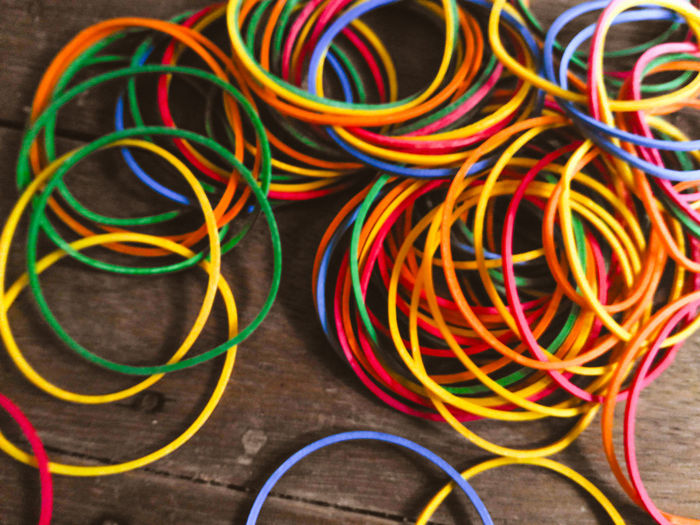 Rubber Rubberband Rubberbands colors #color #colorful #TagsForLikes #red #orange yellow green blue indigo violet beautiful rainbow rainbowcolors col Fine Art PHotography Colour Of Life