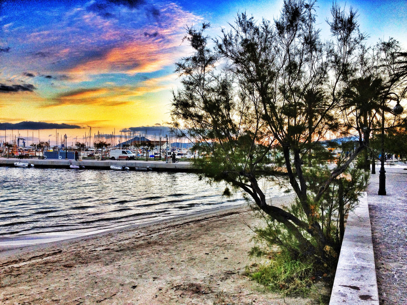 Blue Mallorca SPAIN On The Road