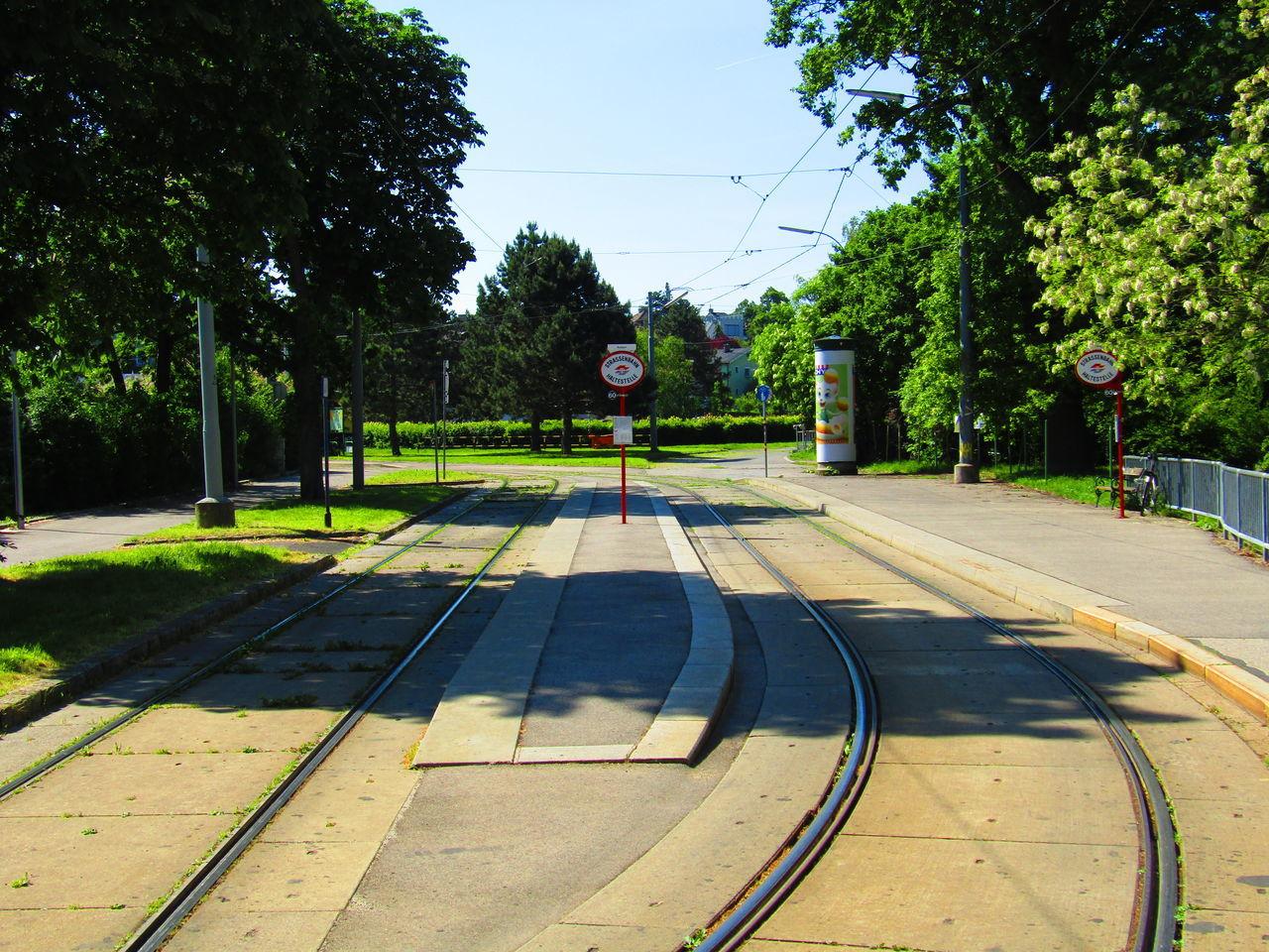 Schienen Schienenverkehr Straßenbahn Rail Rail Transportation Railroad Track Tram Austria Vienna Wien Rodaun