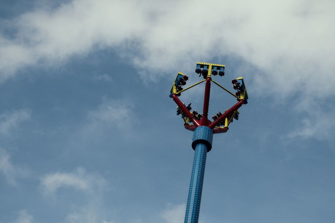 Low Angle View Sky Technology Outdoors Day prater