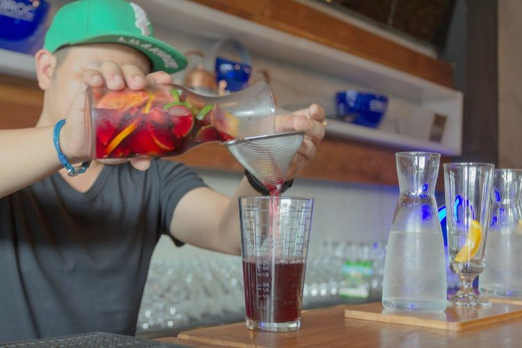 Sangria Cocktail Mixology Culture Mixology Cocktails Bar Bartender Lounge