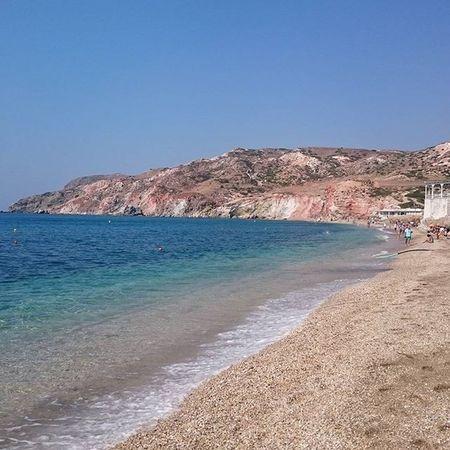 Milos Ilovemilos Paleochori Paleochoribeach Greece
