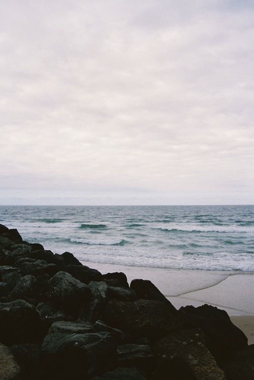 35mm 35mm Film 35mm Film Photography Beach Beauty In Nature Cloud - Sky Day Horizon Over Water Nature No People Outdoors Rock - Object Scenics Sea Sky Tranquil Scene Water