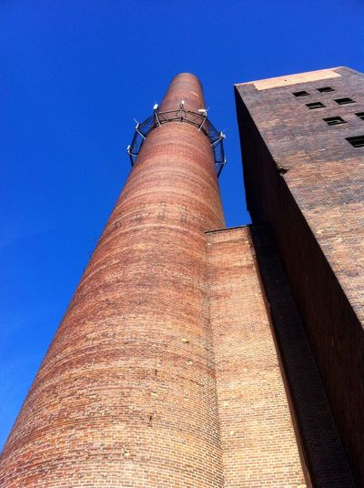 Chimney Industrial Fabric Old Buildings