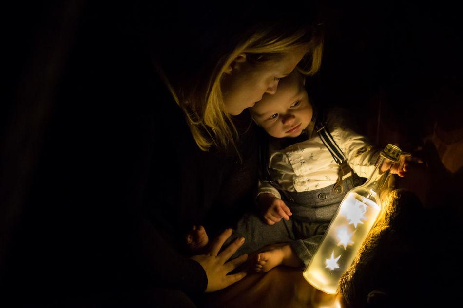 Beautiful stock photos of sterne, night, child, childhood, girls
