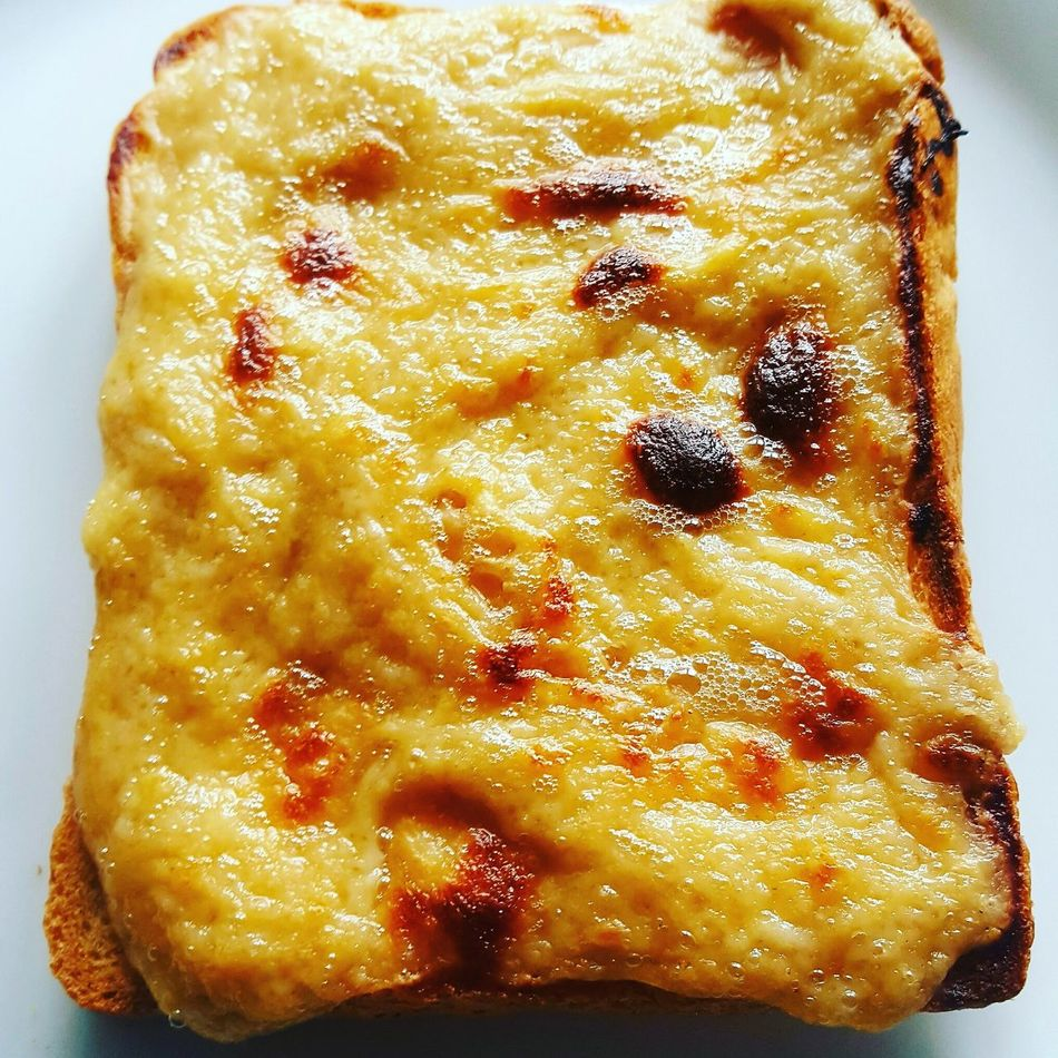 Food Close-up Food And Drink No People Healthy Eating Freshness Indoors  Ready-to-eat Sweet Pie Day Welsh Rarebit Cheese On Toast