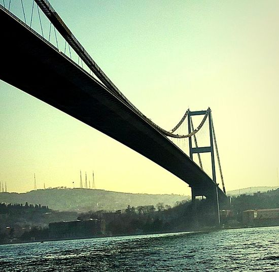 Bosphorus Bridge Istanbul Turkey Followme