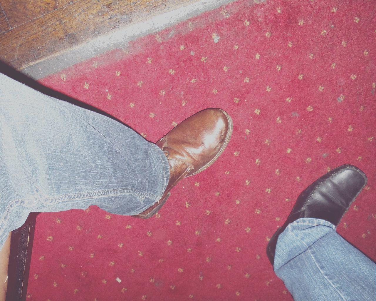 Legs Shoes Blue Jeans Jeans Brown Leather Feet Lookingdown Boots EyeEm Best Shots Odd