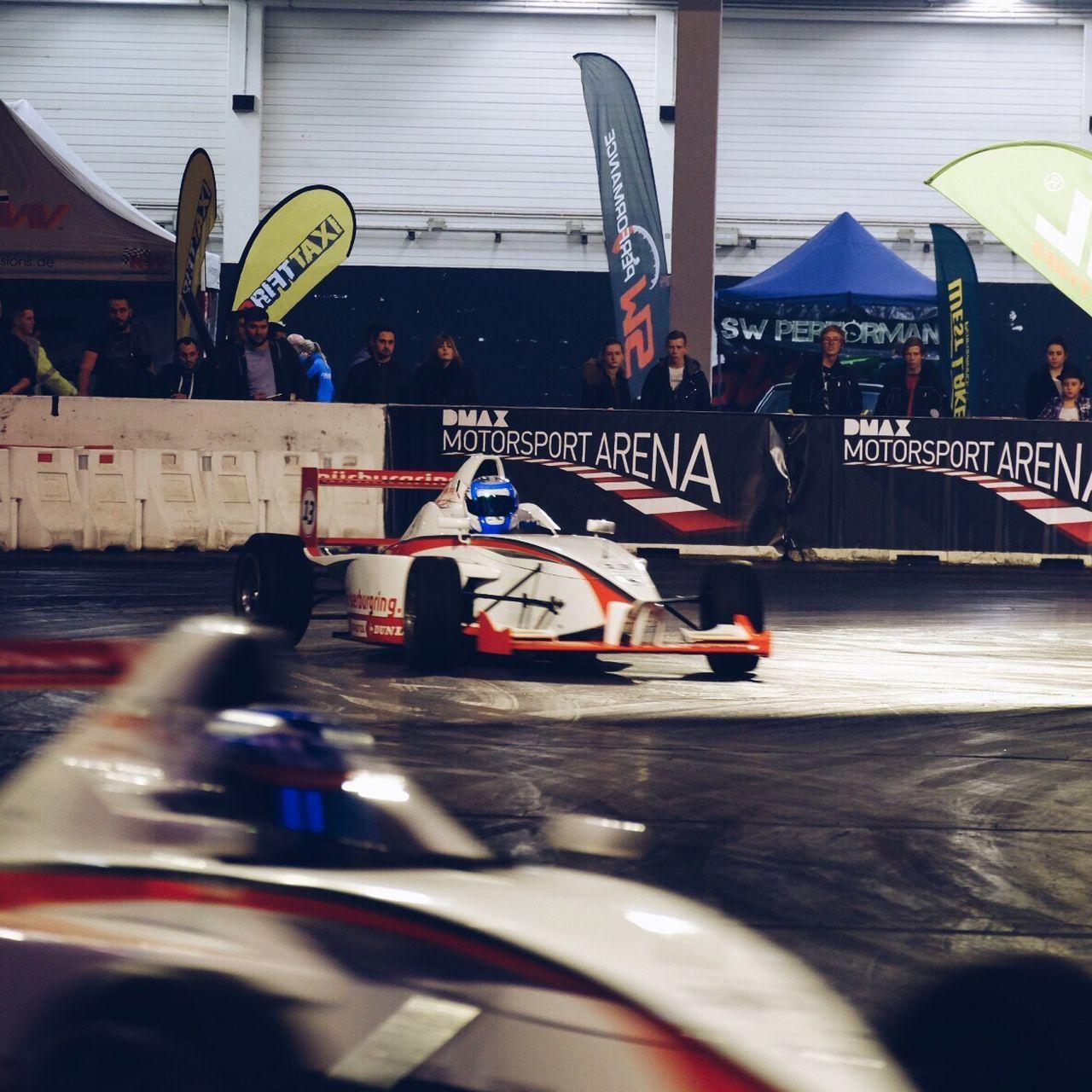 Car Motion Drifting Car Show Racetrack