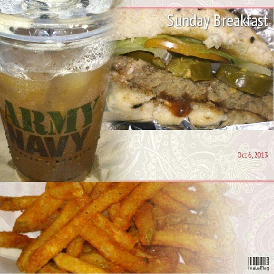 Sunday Restday with Peter Breakfast HouseArrest Thankyoumama