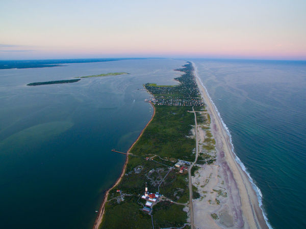 View from 1200ft Aerial Exploreny Exploring New Ground Beach Life