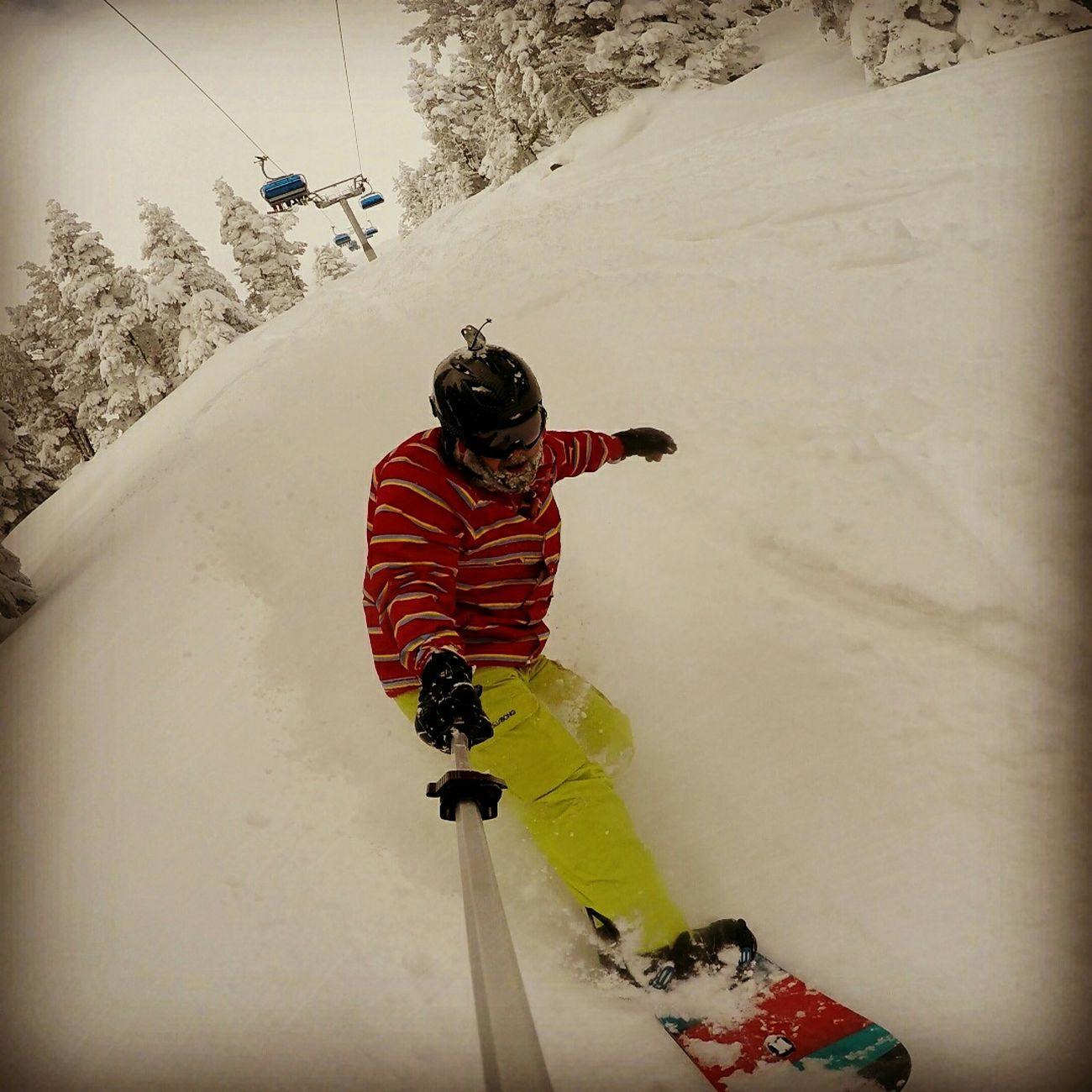 Kartalkaya Snowboarding Powder First Eyeem Photo