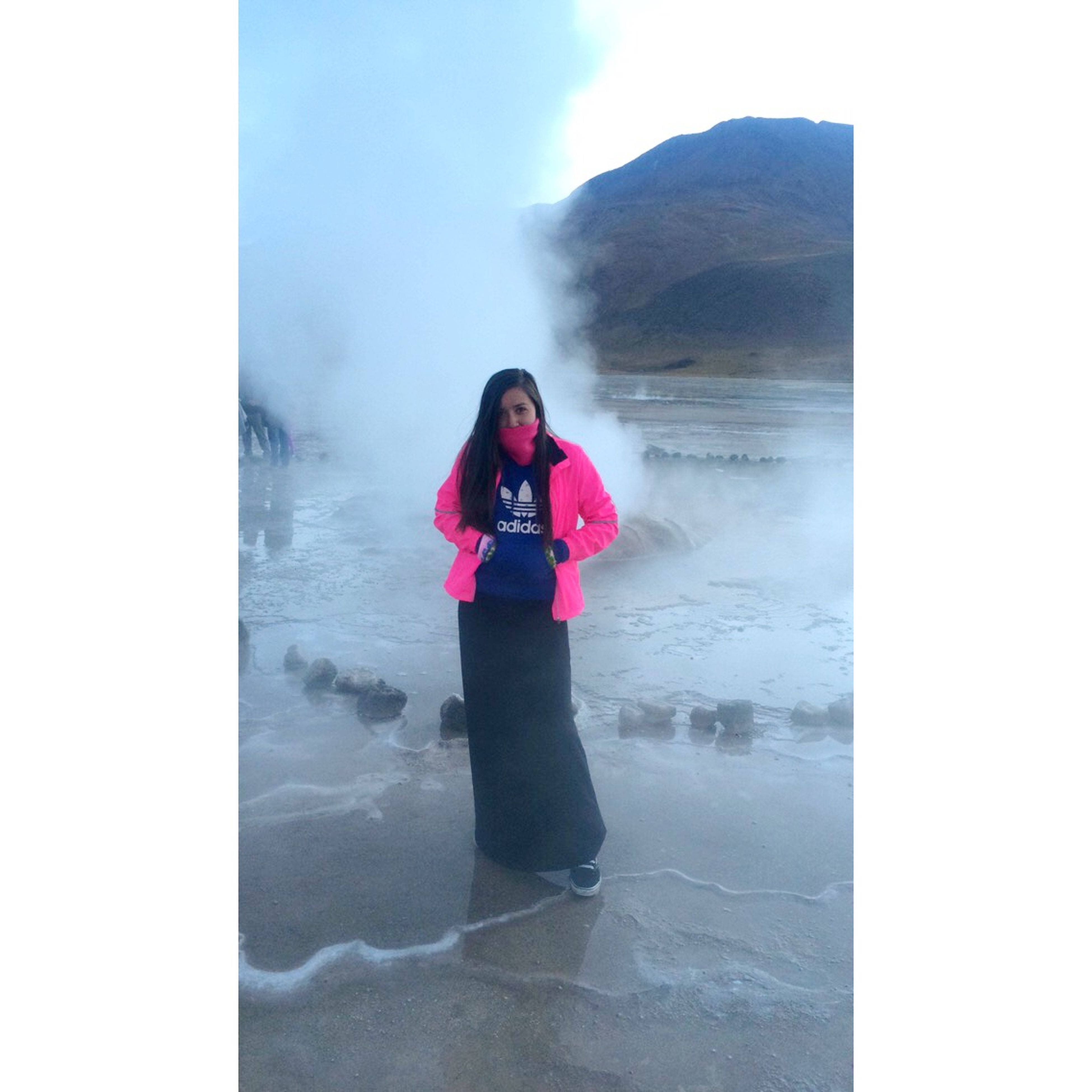 Lo mejor, congelada? Frio Cold Geyser Beatuiful Amazing Relaxing Nature Picoftheday Lovely