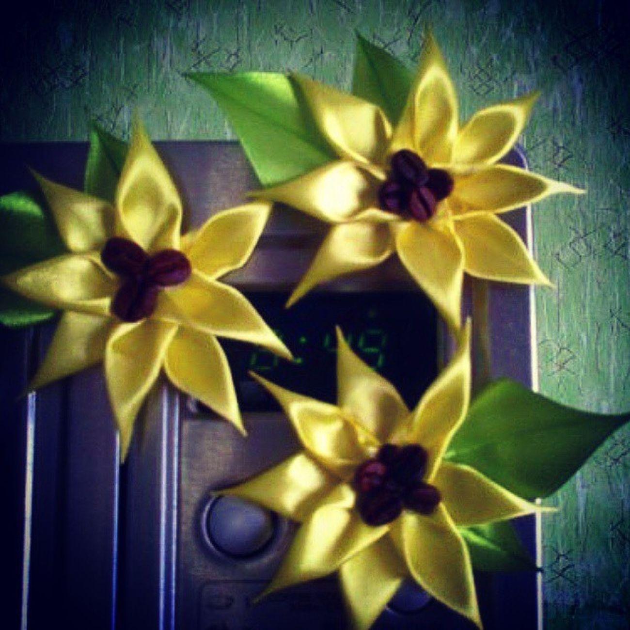 цветочки ручная_работа Flowers