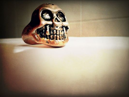 skull in Ozzano Dell'emilia by Dubstem
