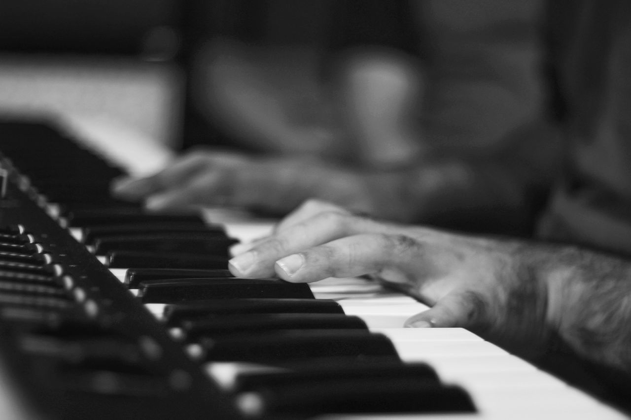 Piano Moments Music Piano Piano Key Musical Instrument Human Hand Human Body Part Pianist Close-up Musician Keyboard Instrument Playing Performance Arts Culture And Entertainment Skill  One Person Practicing Classical Music People Indoors  Performing Arts Event Studiophotography Recording Studio