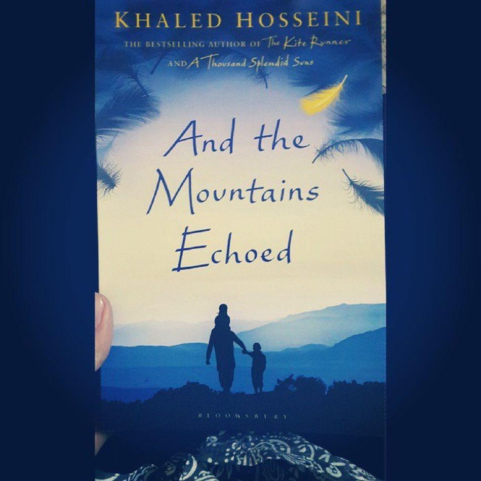 New book! :3 Reading Books Indiekids Khaledhosseini Goodliterature winter