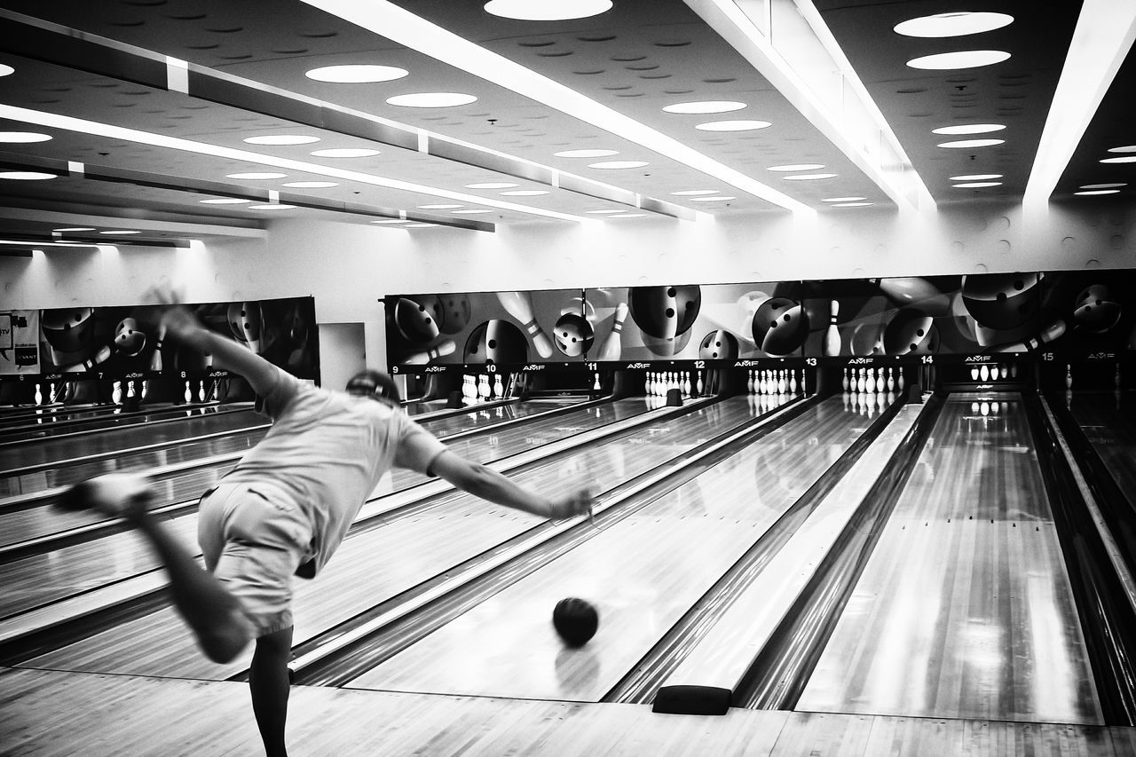 Beautiful stock photos of bowling, Balance, Ball, Bowling, Bowling Alley