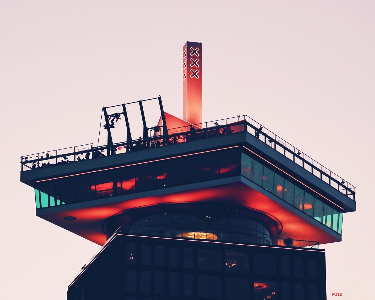 Triple X. P312 First run with the new camera and lens. Onephotoaday 365project2016 Telelens Zoom In A'DAM Lookout Adam Tower A'dam Toren Amsterdam Architecture Architectural Detail Low Angle View Lookout Lights Lightreflection Evening Outdoors Rural Scene Netherlands