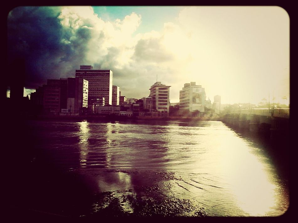 Urban Geometry Recife, BRASIL River And Town Mangue