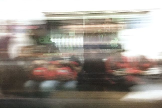 On The Way Home Subway Tired City Life Speed