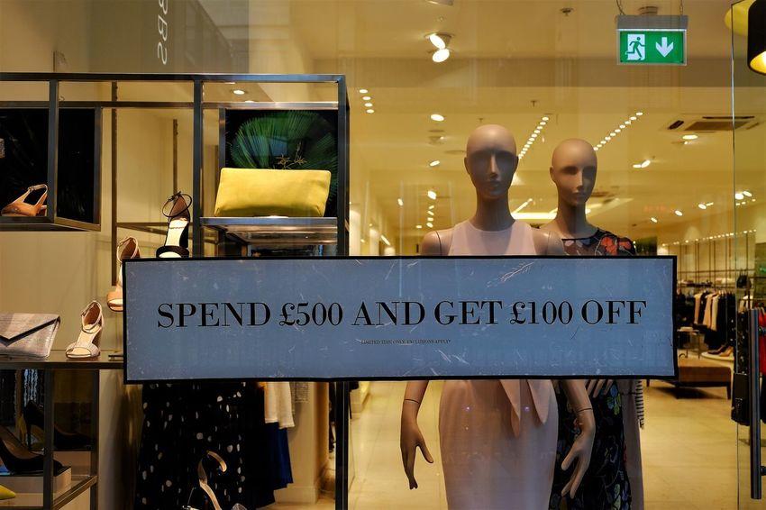 Consumerism Consumerist Culture Money Save Shopping Mall Spend