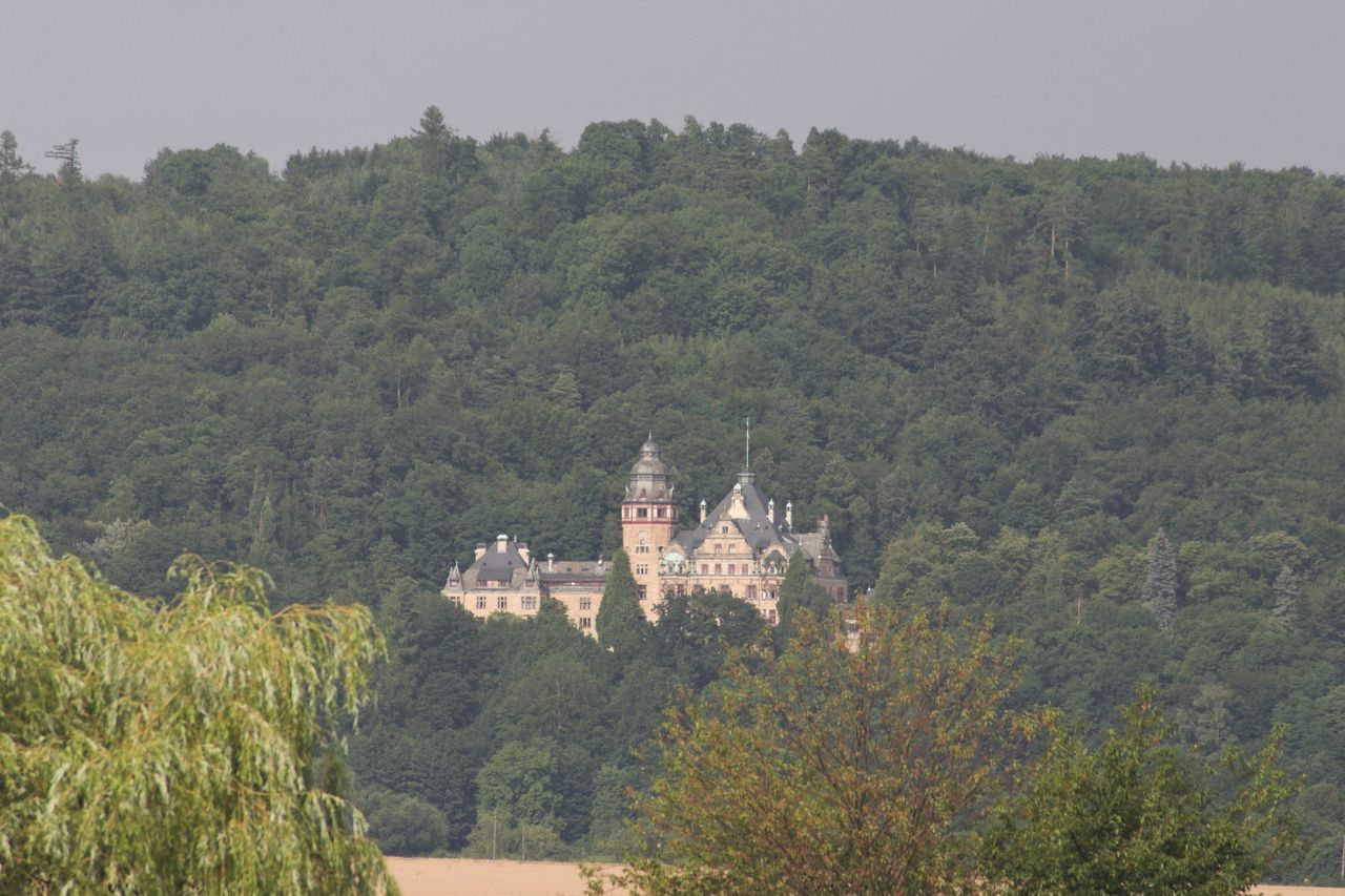 Schloss Wolfsbrunnen Castle Werra Werratalsee Eschwege Meinhard Mountains Germany Place Of Worship Travel Destinations Building Exterior History Day