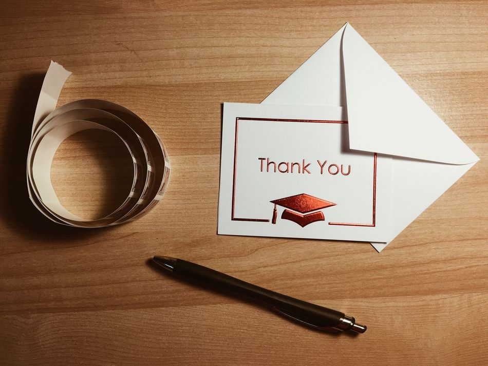 Beautiful stock photos of thank you,  Card,  Communication,  Day,  Directly Above